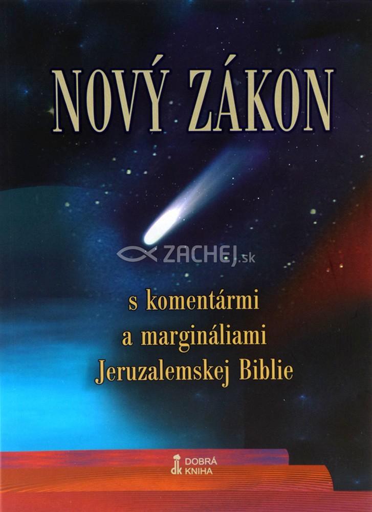 Nový zákon - S komentármi a margináliami Jeruzalemskej Biblie