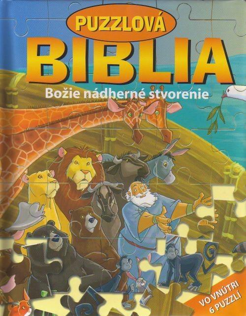 Puzzlová Biblia - Božie nádherné stvorenie