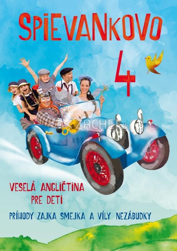 DVD: Spievankovo 4 - Veselá angličtina pre deti - Príbehy zajka Smejka a víly Nezábudky