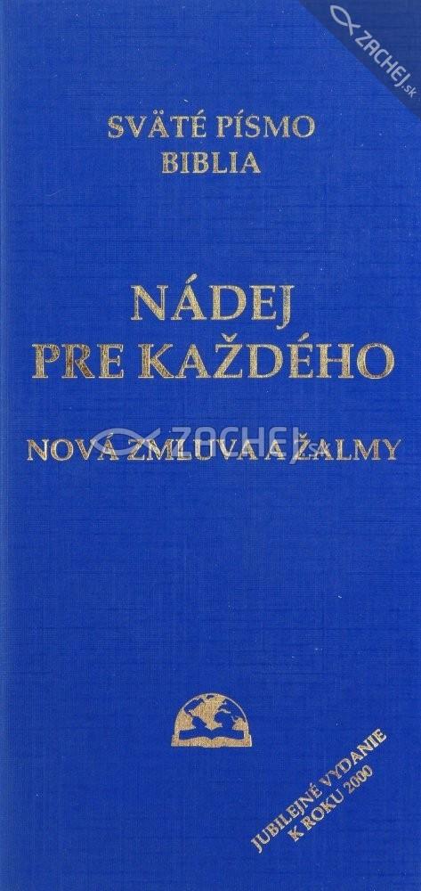 Nádej pre každého - Nová Zmluva a Žalmy (vreckové)