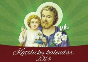 Kalendár 2014 - katolícky - stolový kalendár