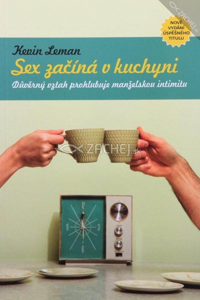 Sex začína v kuchyni - Důvěrný vztah prohlubuje manželskou intimitu