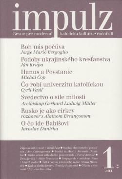 Impulz 1/2014 - Revue pre modernú katolícku kultúru