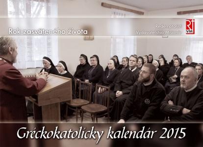 Gréckokatolícky kalendár 2015 - stolový