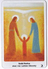 Svätá Rodina - Záborský (magnetka)