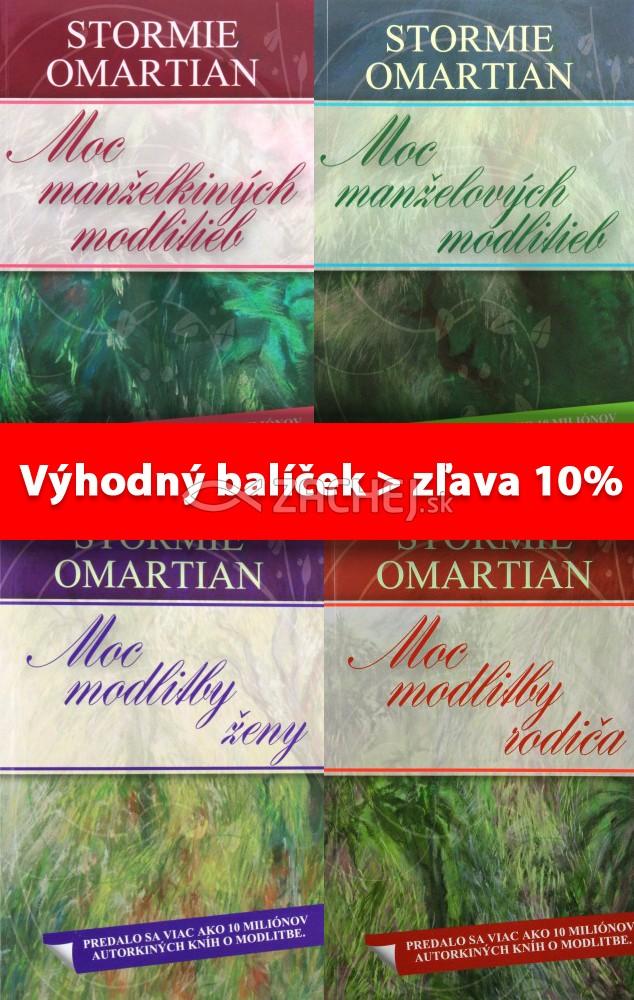 Sada 4 x Omartian: Moc modlitby - Balíček 4 kníh za výhodnú cenu