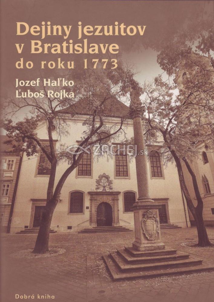 Dejiny Jezuitov v Bratislave do roku 1773