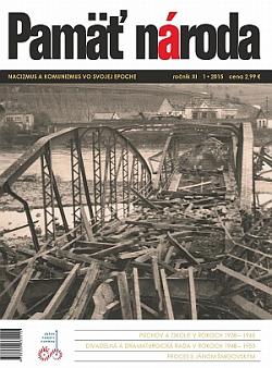 Časopis Pamäť národa 1/2015