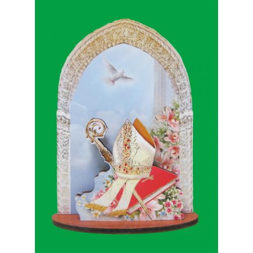 Oltárik: biskupská mitra (PRC 05)