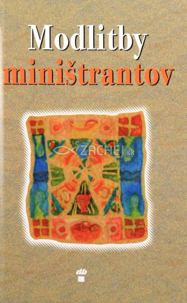 Modlitby miništrantov - pred a po svätej omši