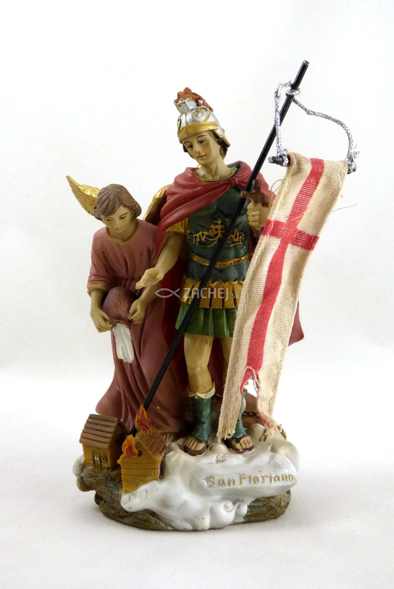 Zachej.sk • Socha  Svätý Florián 1. - 12 cm 9e2a0f27993