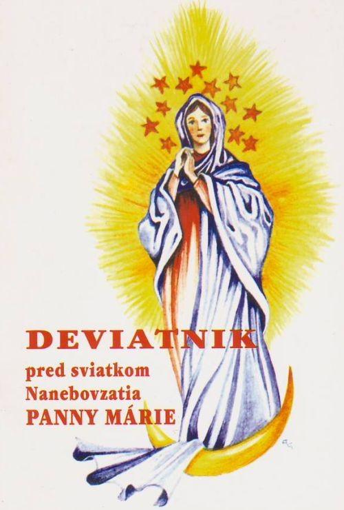 Deviatnik pred sviatkom Nanebovzatia Panny Márie