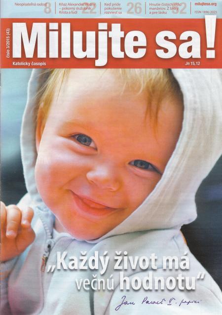 Časopis Milujte sa! (43) - 3/2015