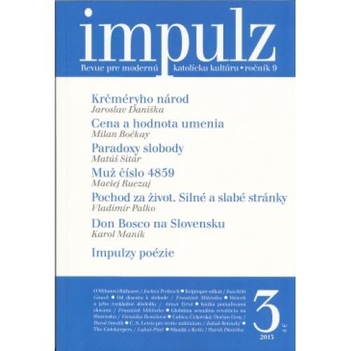 Impulz 3/2013 - Revue pre modernú katolícku kultúru