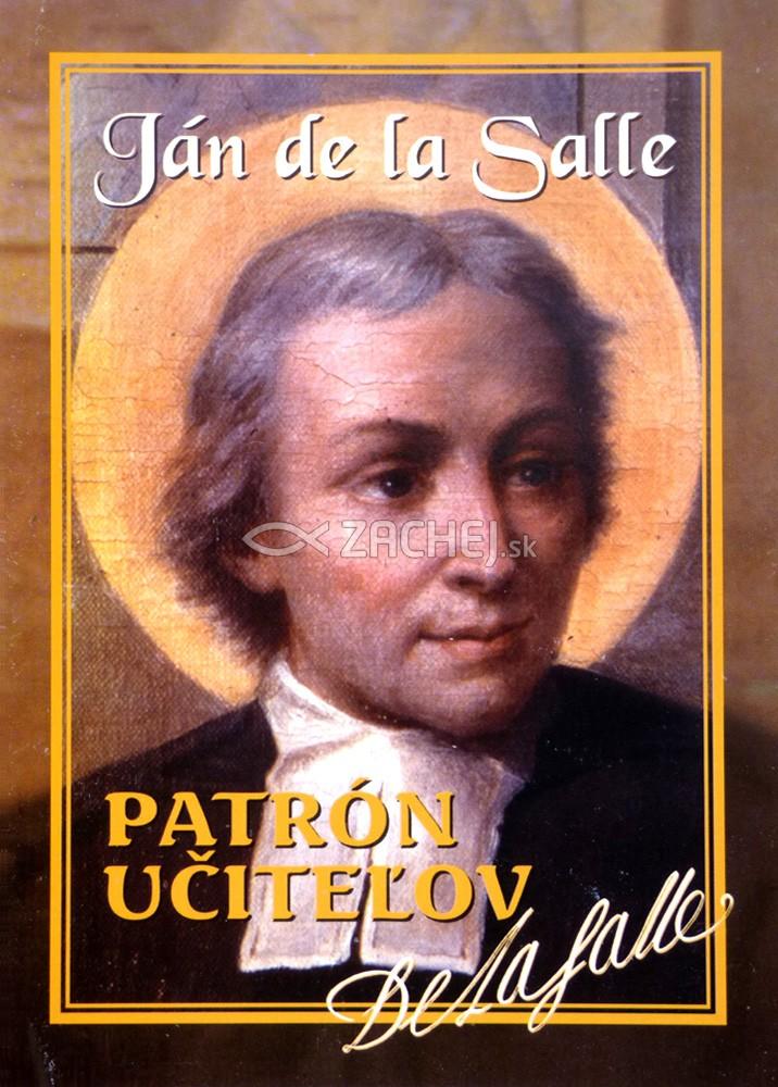 Patrón učiteľov - Ján de la Salle