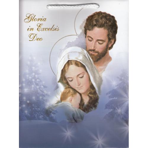 Darčeková taška: vianočná, malá (1)