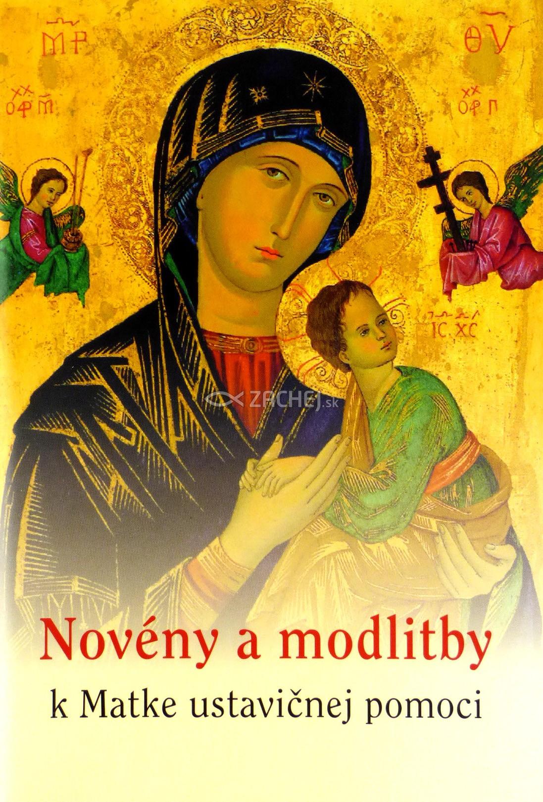 Novény a modlitby k Matke ustavičnej pomoci