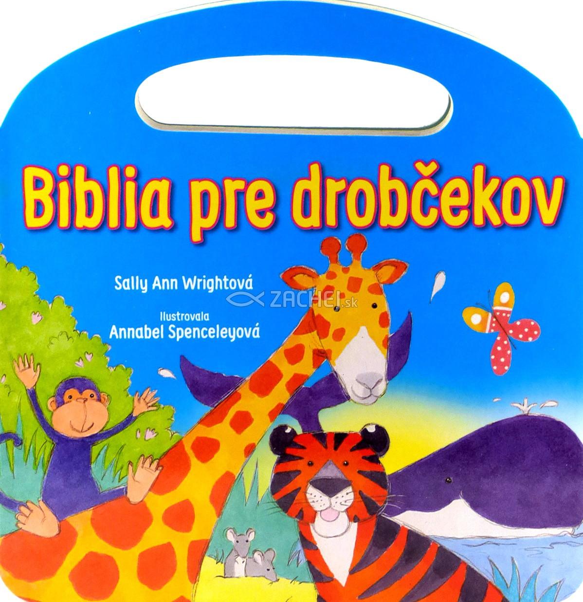 Biblia pre drobčekov - modrá (s uškom) - leporelo