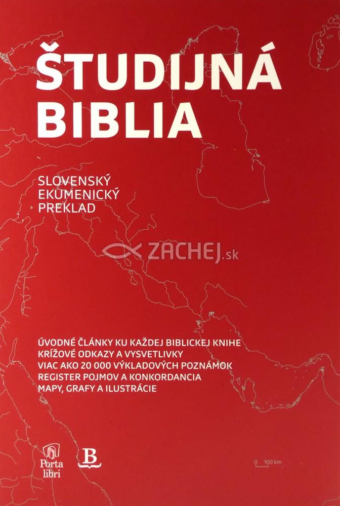 Študijná Biblia - Slovenský ekumenický preklad