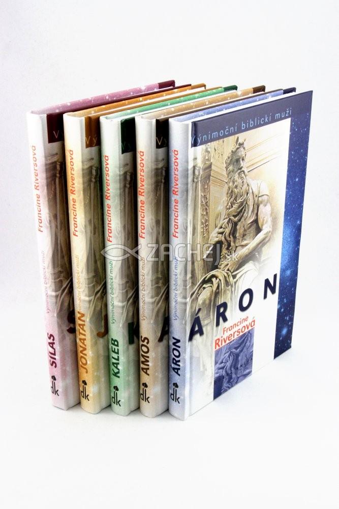 Sada: Výnimoční biblickí muži - Kompletná sada 5 kníh