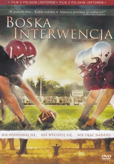 DVD: Boska interwencja (Vzepřít se obrům) - Český, anglický, poľský dabing