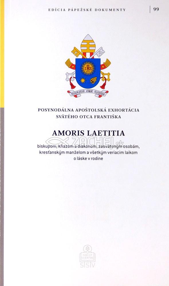 Amoris laetitia (Radosť lásky) - Posynodálna exhortácia Svätého Otca Františka o láske v rodine