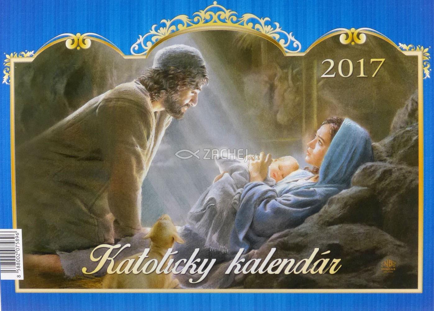 katolicky kalendar Zachej.sk • Katolícky kalendár 2017 stolový (Via) katolicky kalendar
