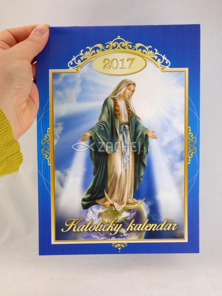 katolicky kalendar Zachej.sk • Katolícky kalendár 2017 nástenný (Via) katolicky kalendar