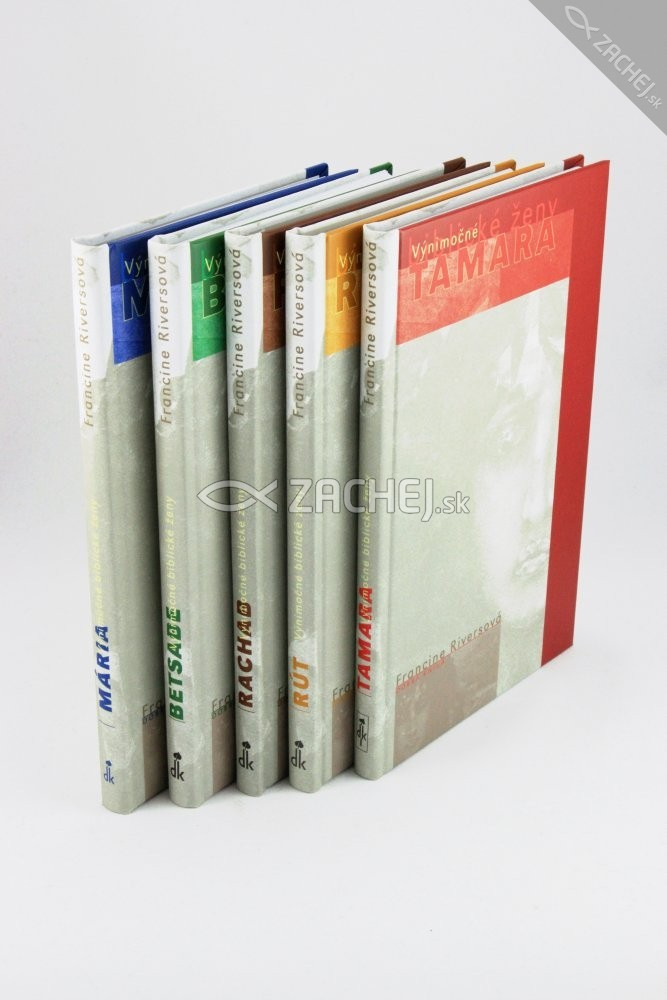 Sada: Výnimočné biblické ženy - Kompletná sada 5 kníh