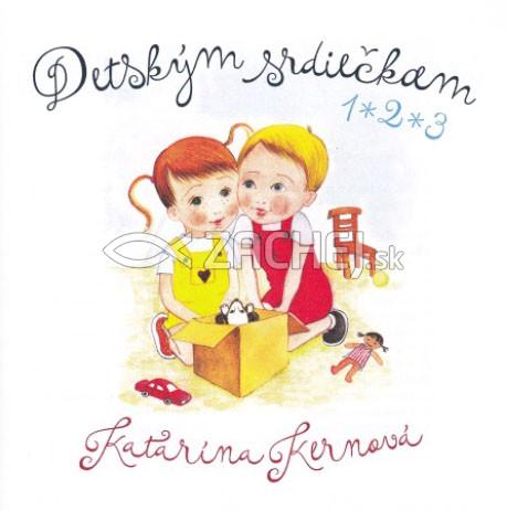 CD: Detským srdiečkam 1, 2, 3 - audiokniha