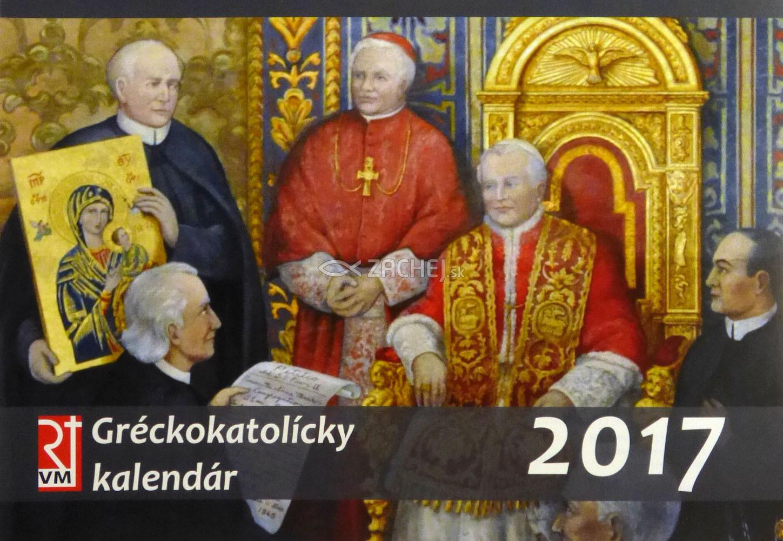 Gréckokatolícky kalendár 2017 - stolový