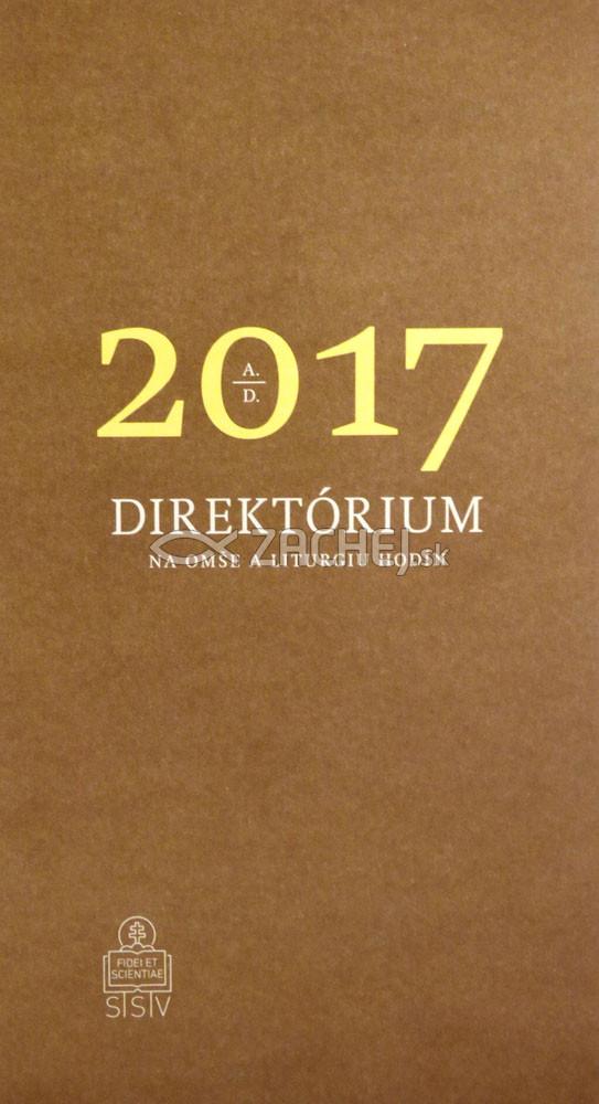 Direktórium 2017 - Na omše a liturgiu hodín