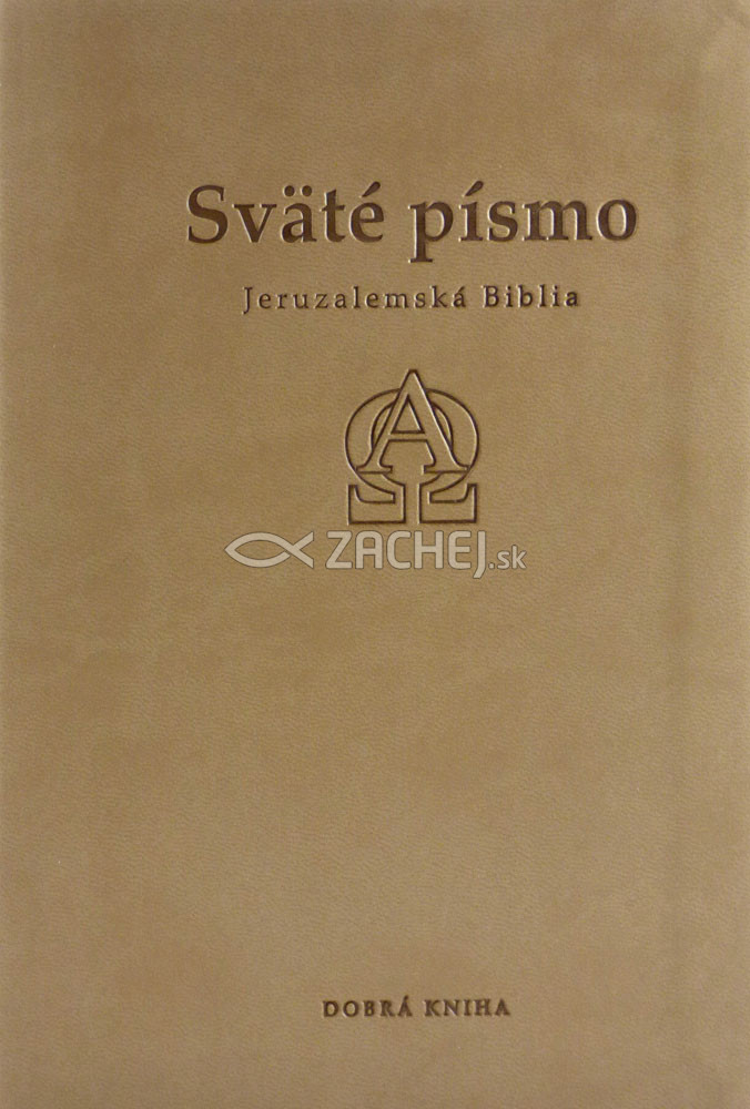 Sväté písmo - Jeruzalemská Biblia (stredná, brožovaná)