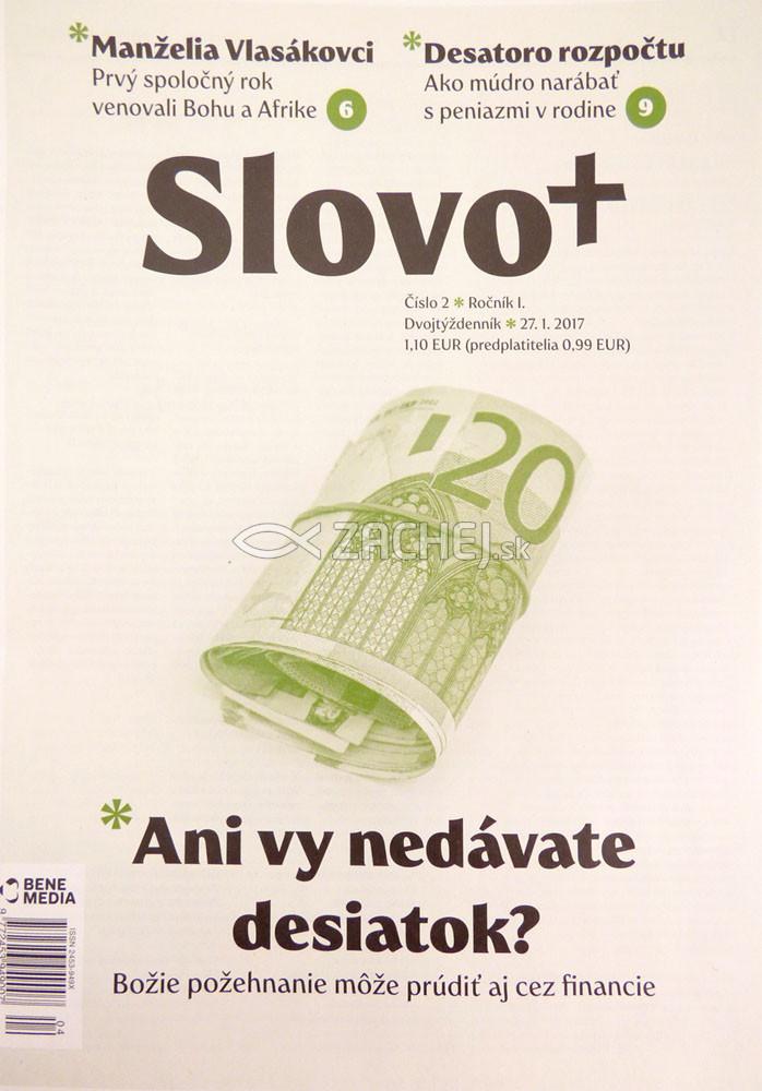 Slovo+ 2/2017 (dvojtýždenník) - Kresťanské noviny