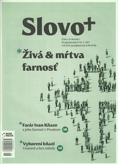 Časopis: Slovo+ 5/2017 - Kresťanské noviny, dvojtýždenník