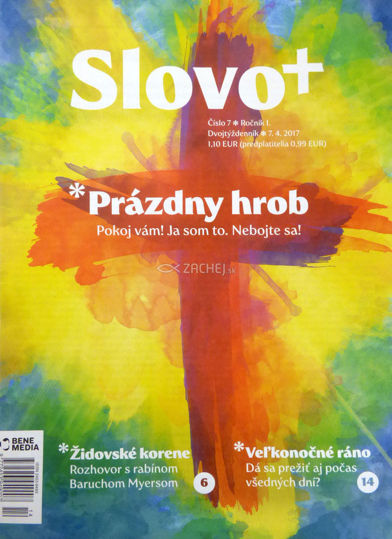 Časopis: Slovo+ 7/2017 - Kresťanské noviny, dvojtýždenník
