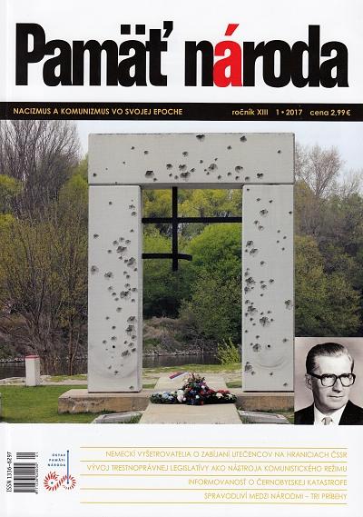 Časopis: Pamäť národa 1/2017
