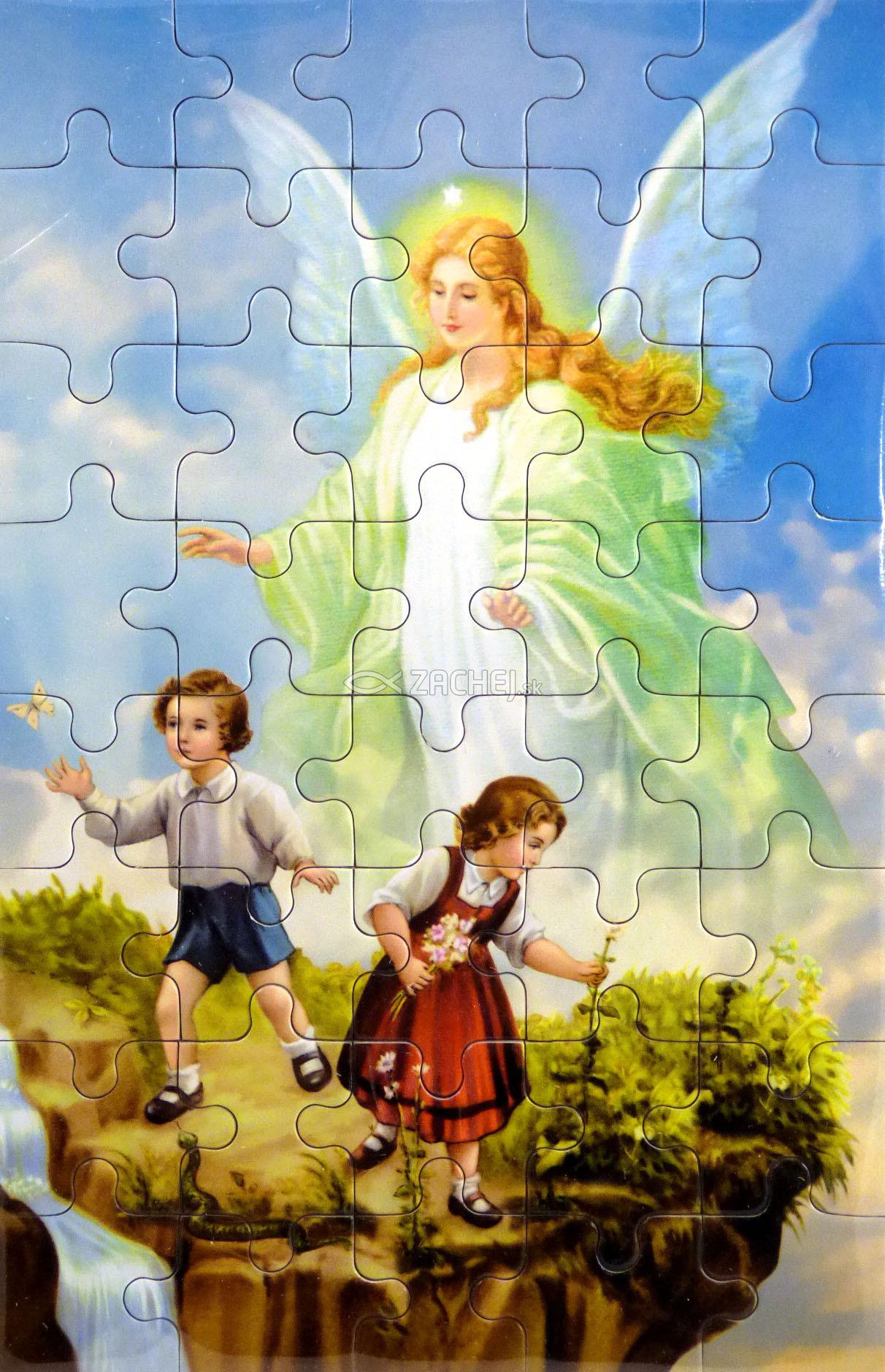 Puzzle: Anjel strážny (PU011) - 40 dielov