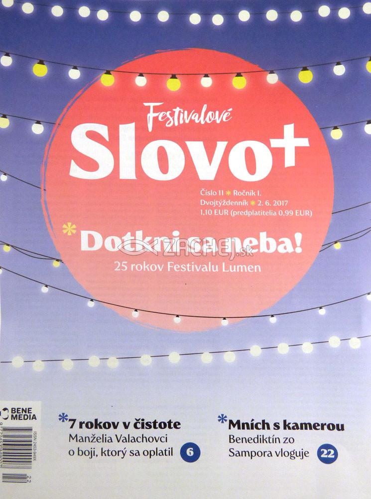 Časopis: Slovo+ 11/2017 - Kresťanské noviny, dvojtýždenník