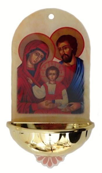 Svätenička: Sv. rodina, plastová (PMMA)