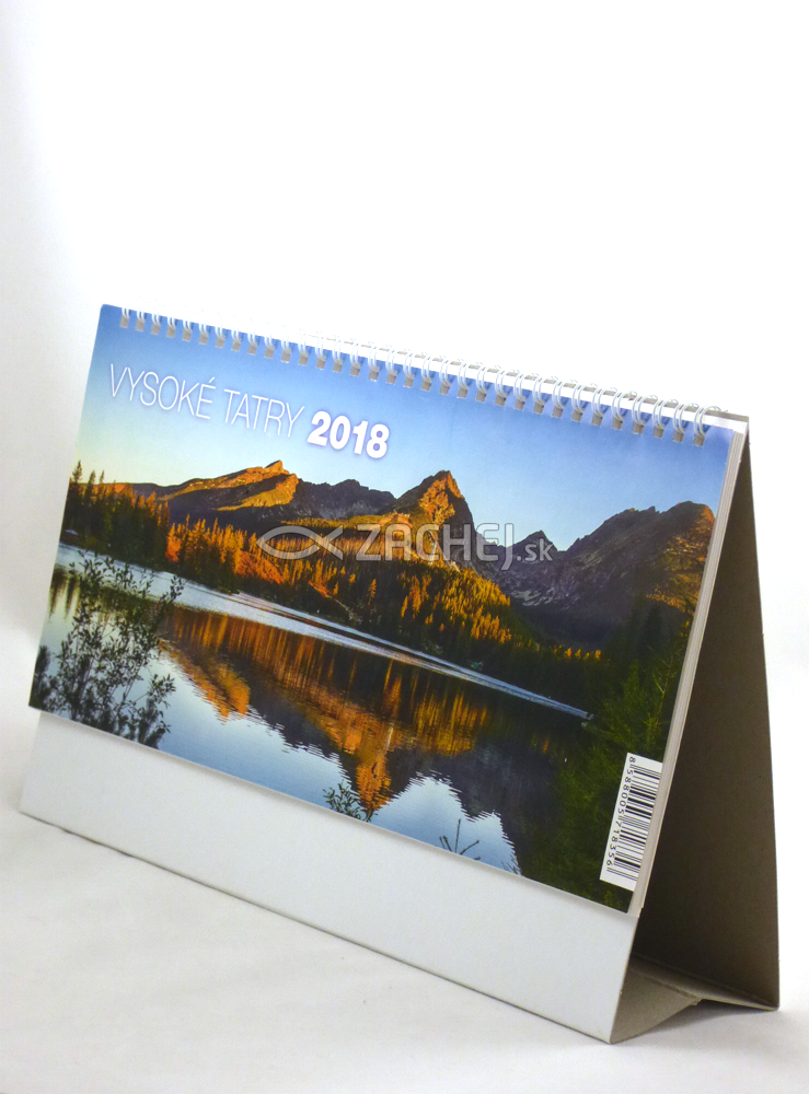 Kalendár 2018 Vysoké Tatry (stolový)