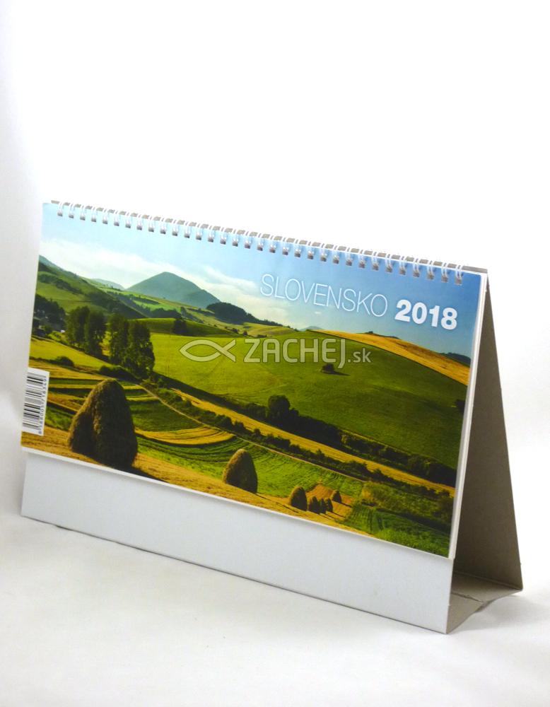 Kalendár 2018 Slovensko (stolový)