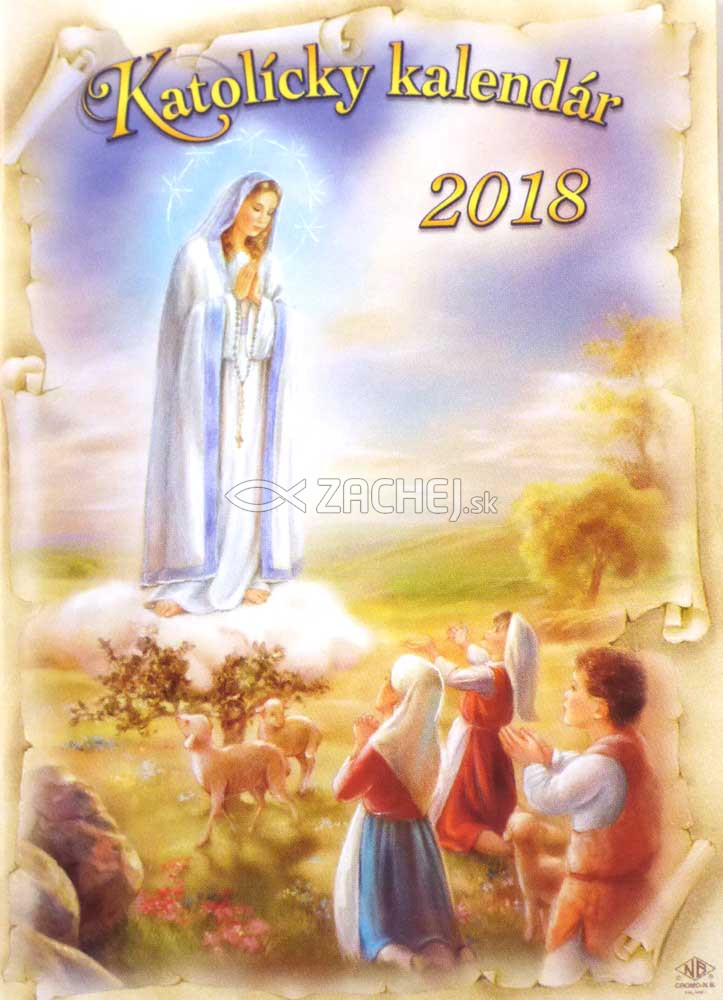 katolicky kalendar Zachej.sk • Katolícky kalendár 2018 (vreckový) / ZAEX katolicky kalendar