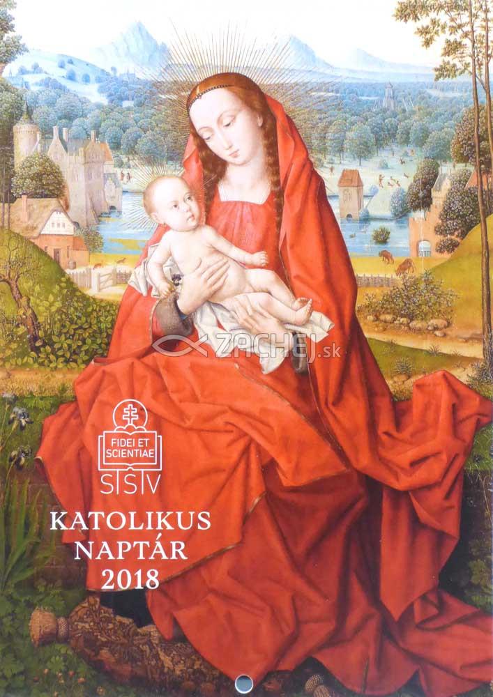 Kalendár maďarský - Katolikus naptár 2018 / SSV