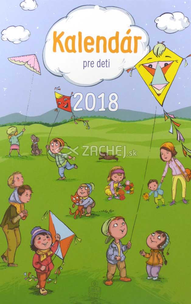 Kalendár pre deti 2018 nástenný (SSV)
