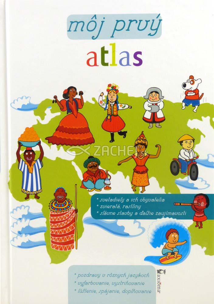 Môj prvý atlas - Obrázkové mapy • Zábavné úlohy