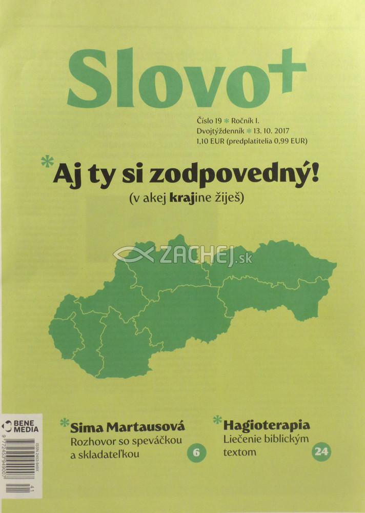Časopis: Slovo+ 19/2017 - Kresťanské noviny, dvojtýždenník