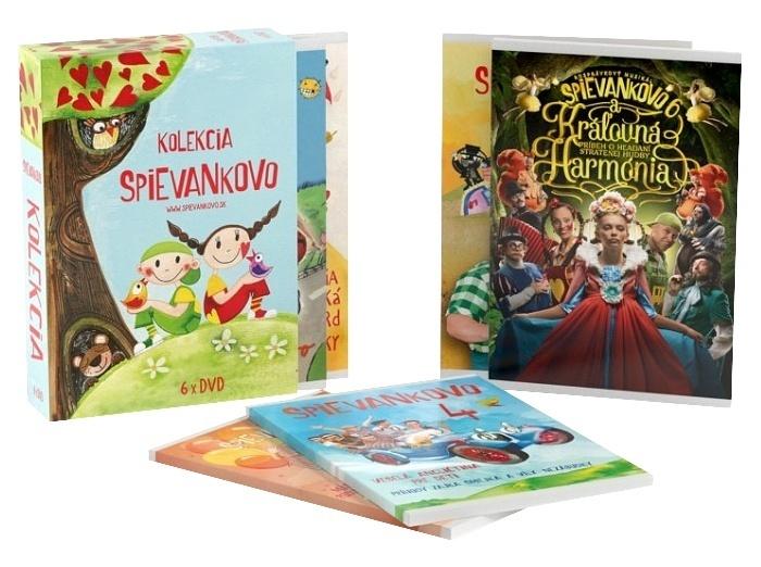6 DVD - Spievankovo kolekcia