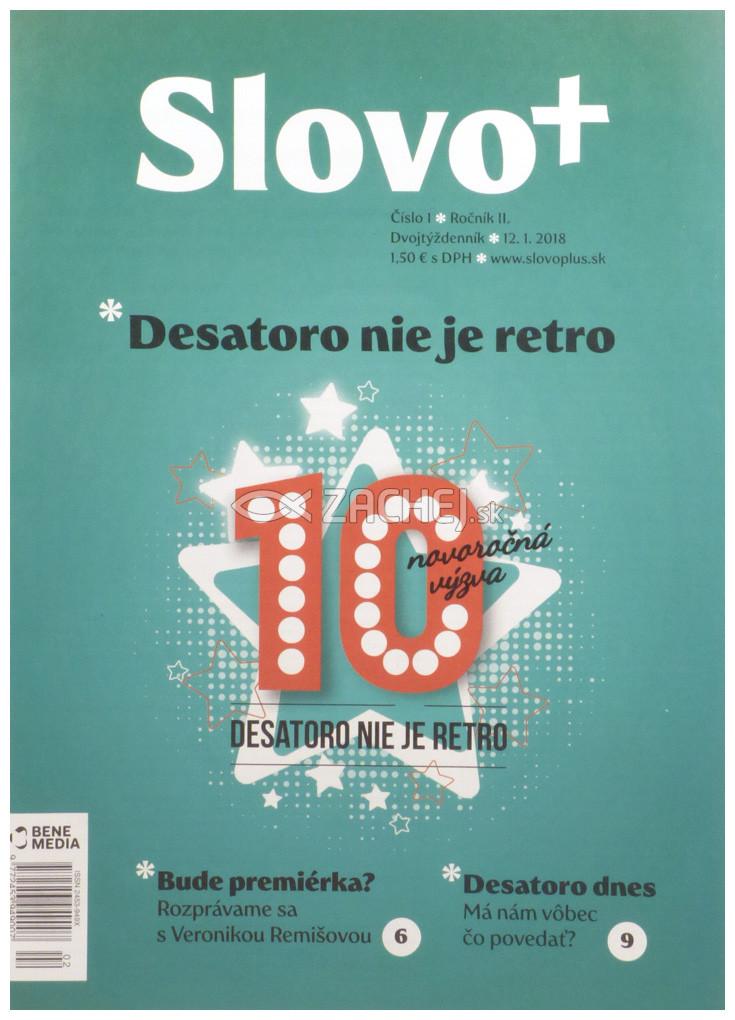 Časopis: Slovo+ 1/2018 - Kresťanské noviny, dvojtýždenník