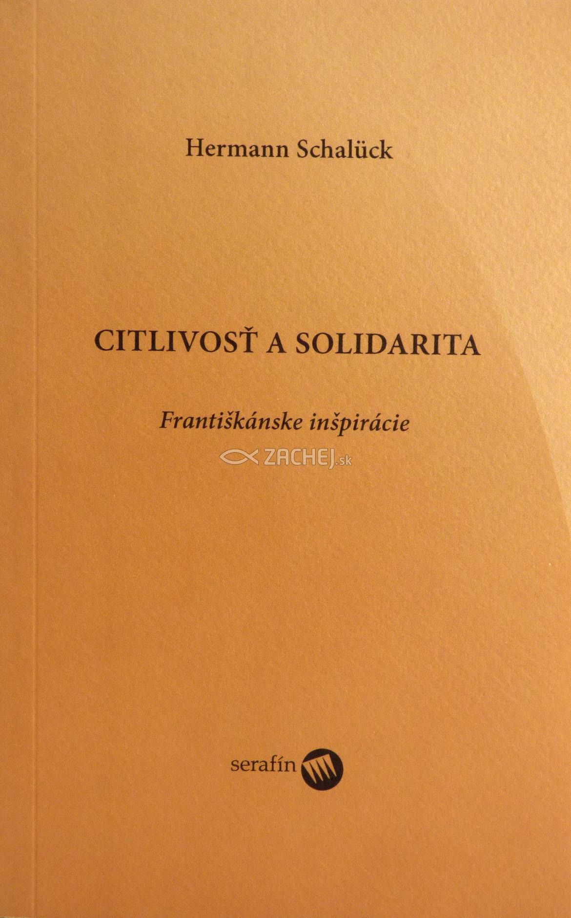 Citlivosť a solidarita - Františkánske inšpirácie